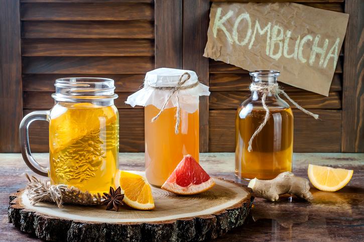 Il kombucha, strano prodotto della fermentazione