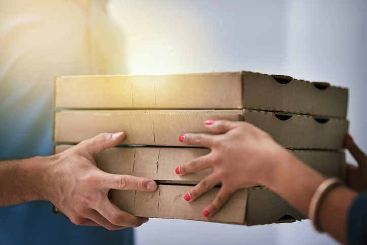 Pizza, delivery, food, cena