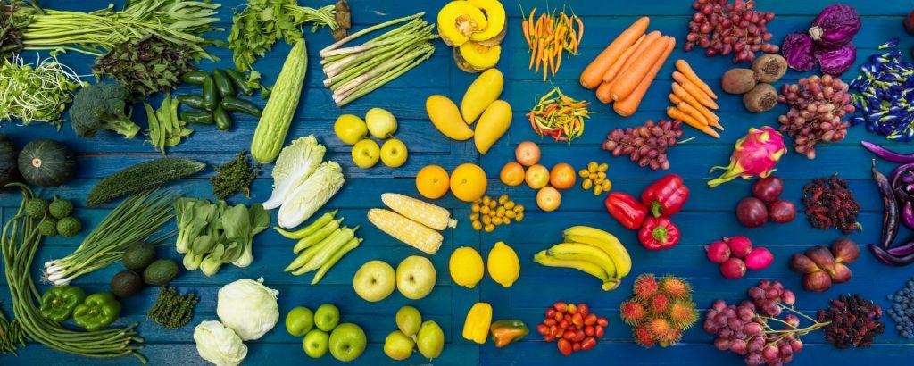frutta e verdura fresche