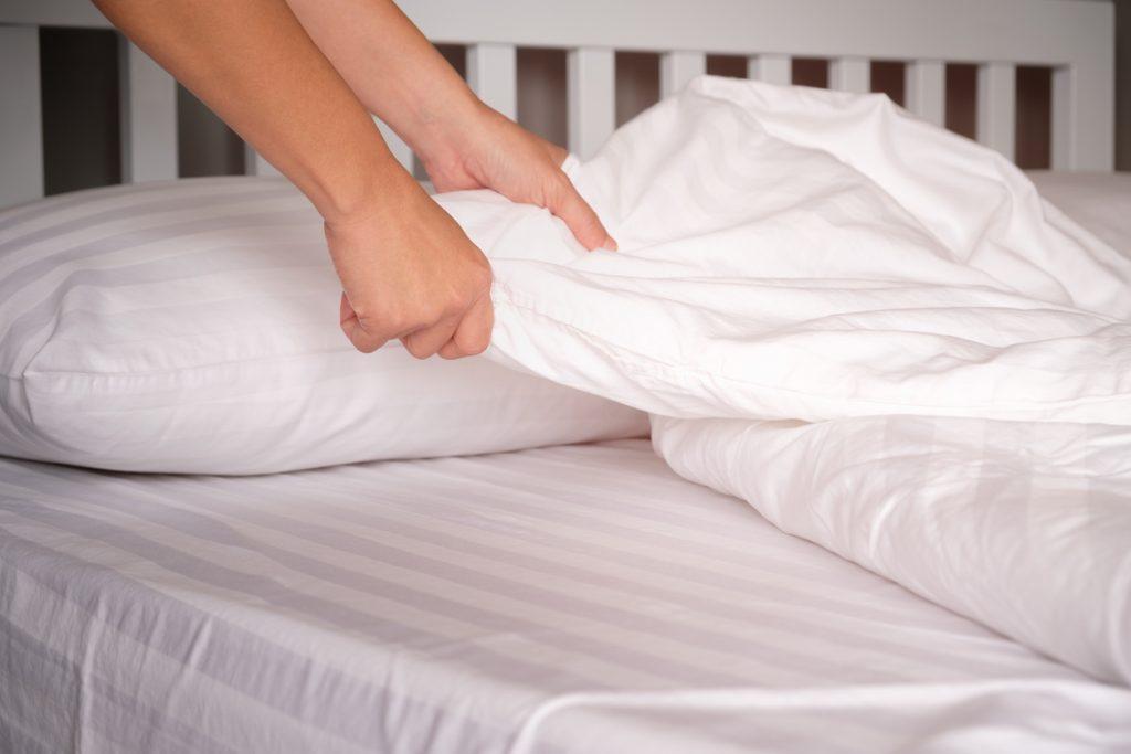 Cambio delle lenzuola