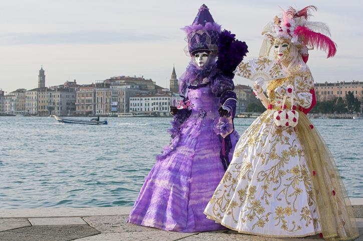 Vivere Venezia durante il Carnevale