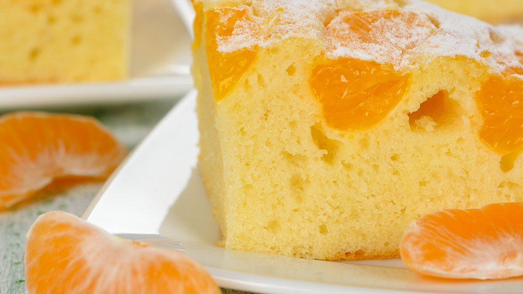 Torta di clementine, trionfa la frutta di stagione