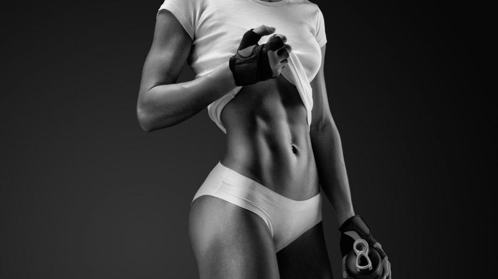 Le donne amano essere muscolose e toniche