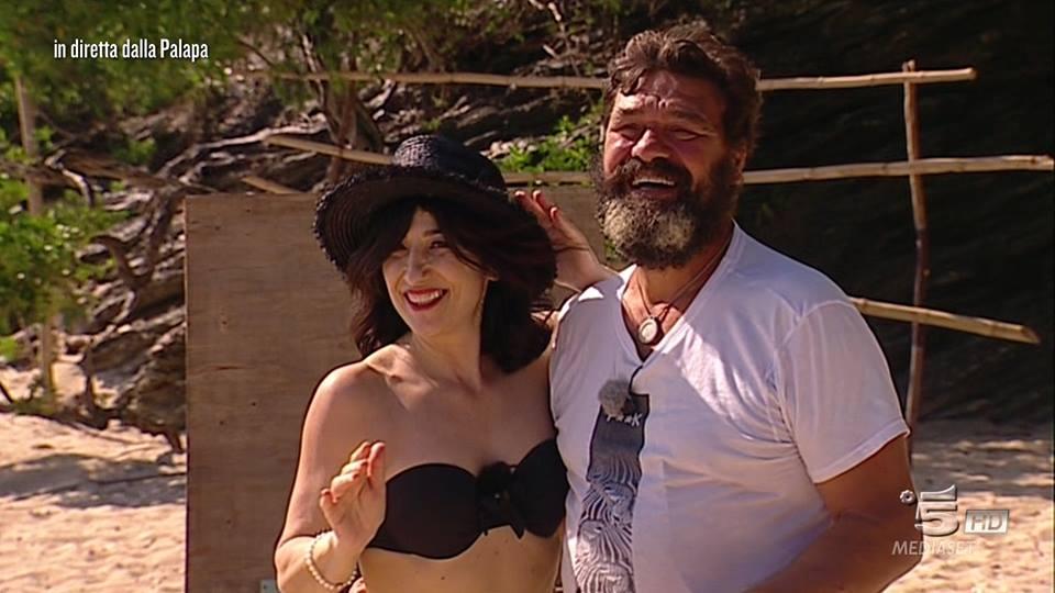 Franco e moglie all'Isola