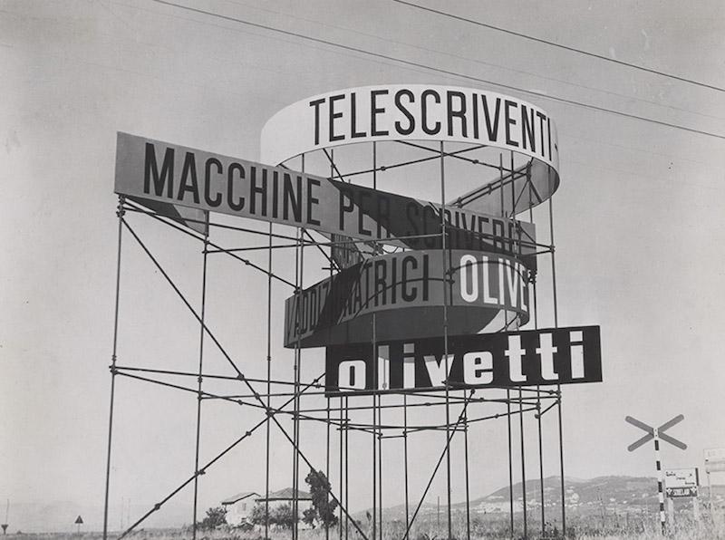 A Firenze una mostra sull'identità della Olivetti