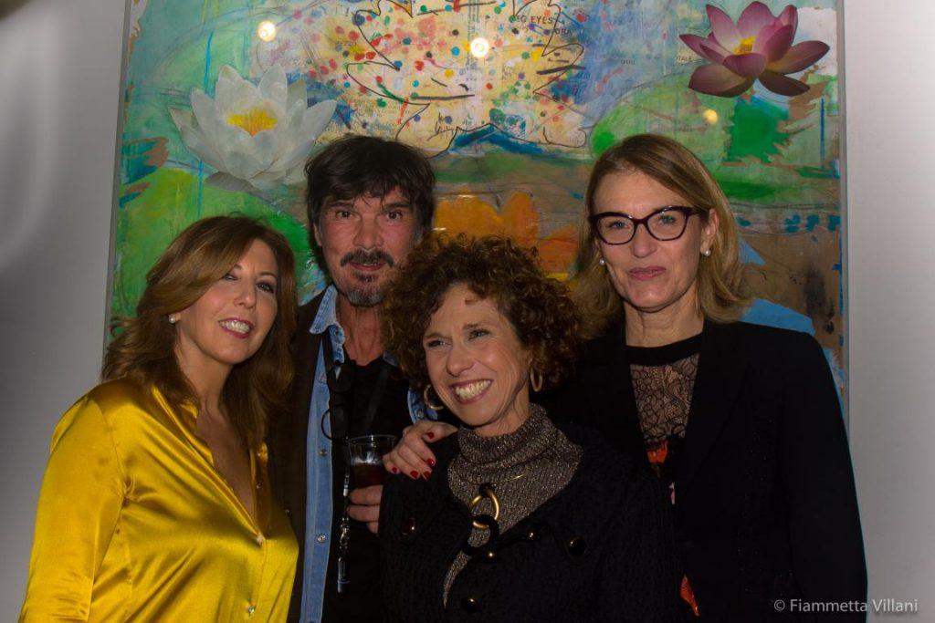 Da sx Tina Vannini, Emilio Leofreddi, Lucia Collarile, Francesca Barbi Marinetti