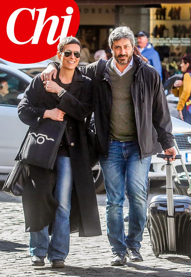 Yvonne De Rosa e Roberto Fico