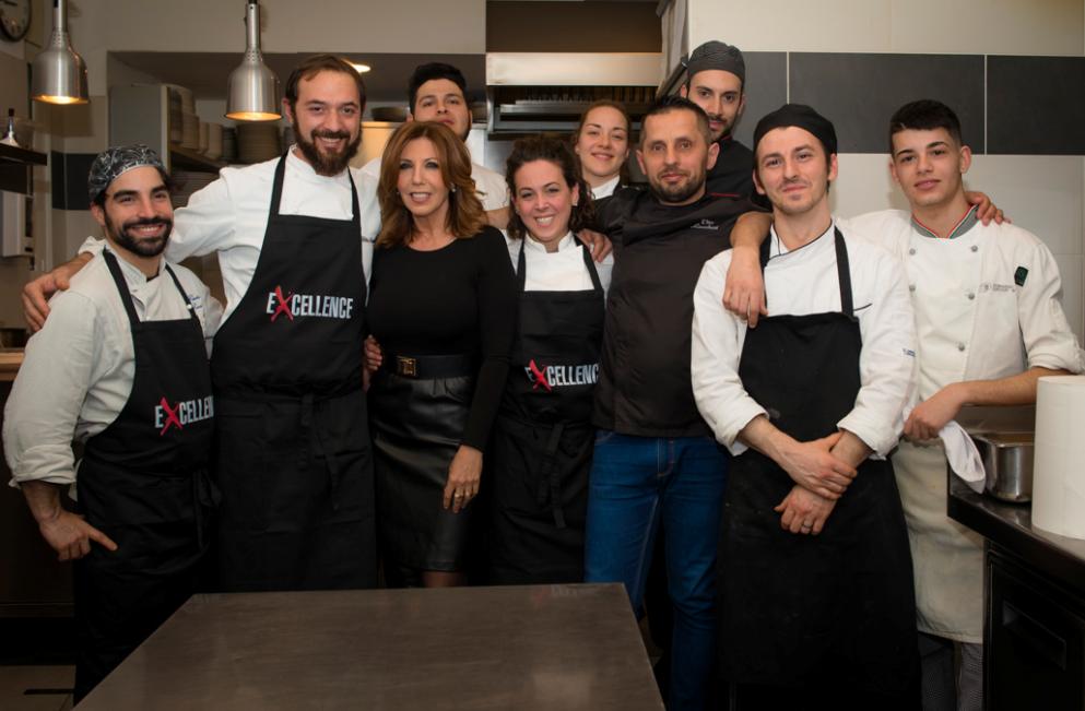 Mirko Moglioni, Tina Vannini, Faby Scarica con i cuochi