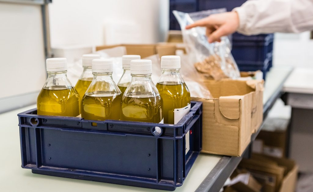 TÜV Italia e olio extravergine d'oliva