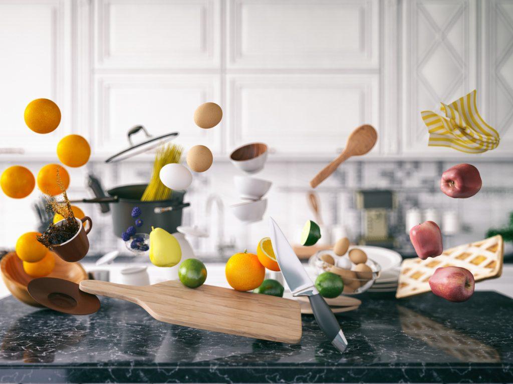 Ordine in cucina, i consigli per non far confusione