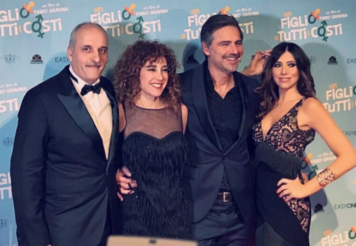 Fabio gravina, Roberta Garzia, Beppe Convertini ed Emanuela Tittocchia