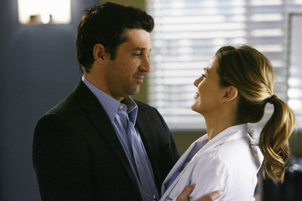 Meredith e Derek di Grey's Anatomy