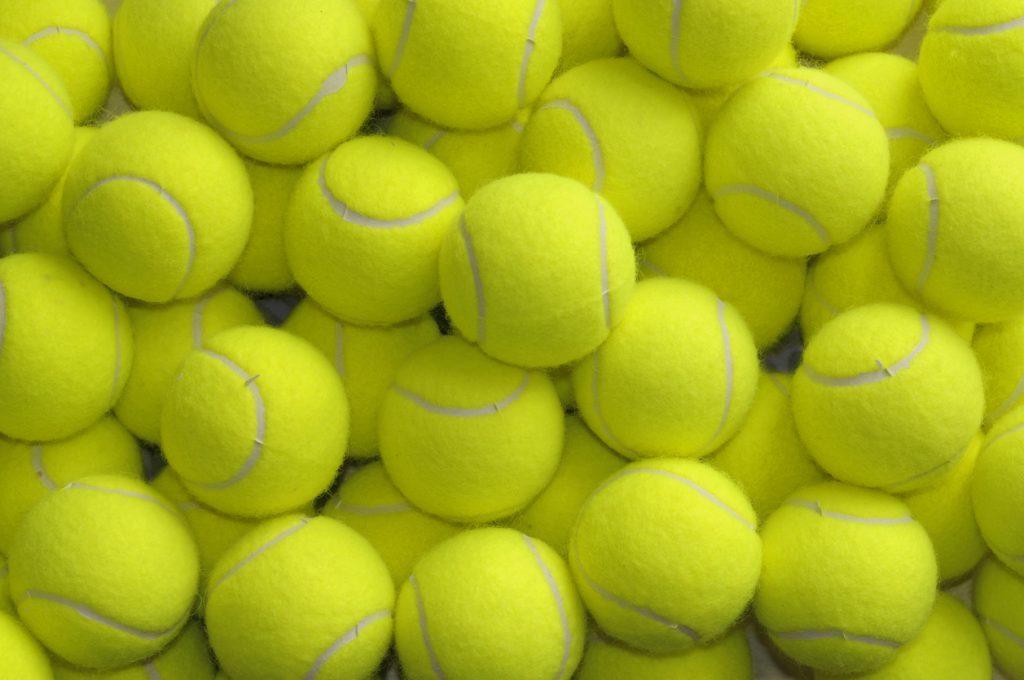Come riciclarle le palline da tennis in modo originale
