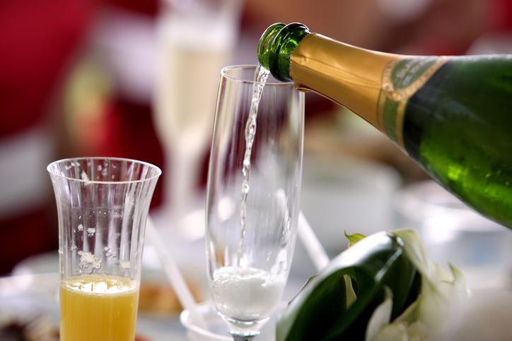 Buck's Fizz, Mimosa, champagne
