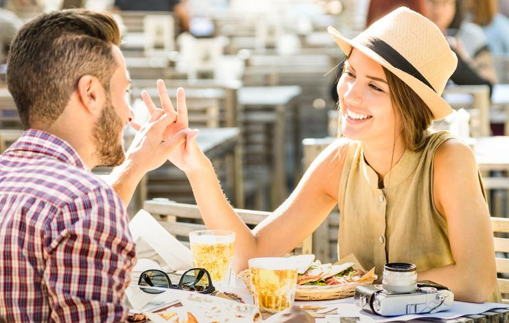 comunicare in coppia a tavola