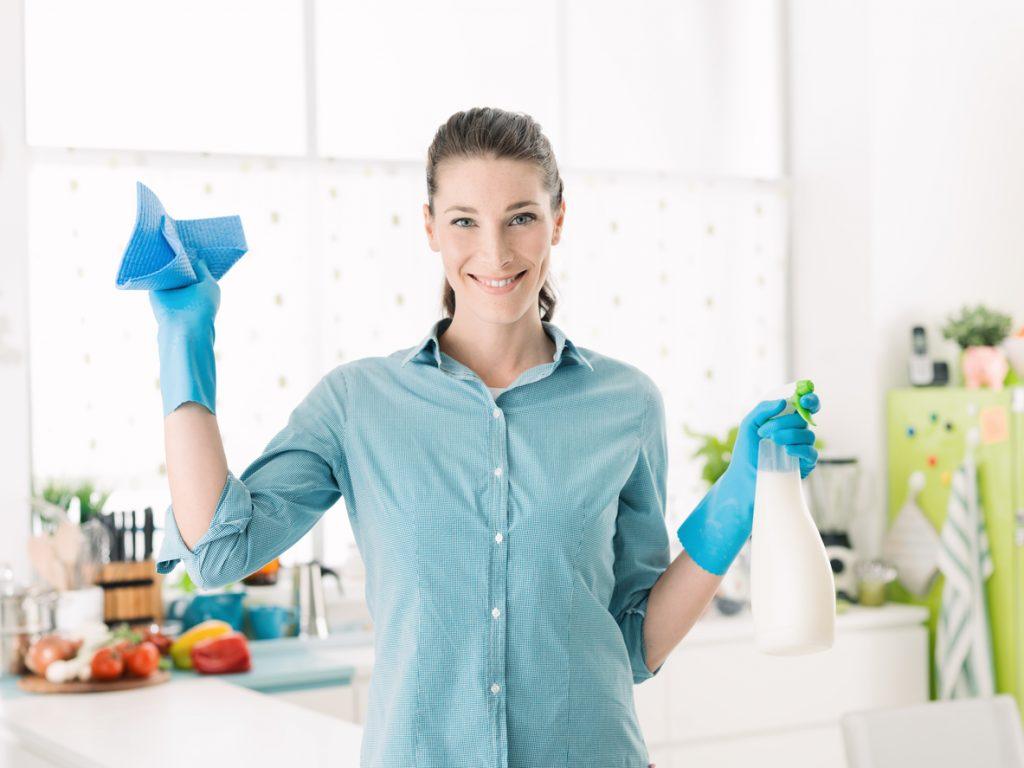 pulizie domestiche veloci