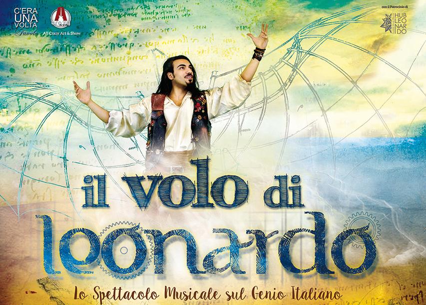 Il volo di Leonardo atterra al Teatro della Luna