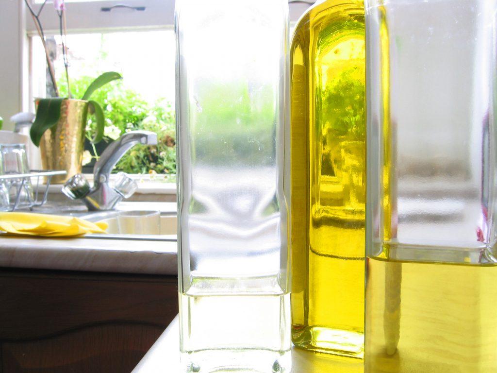 Come pulire con l'olio d'oliva