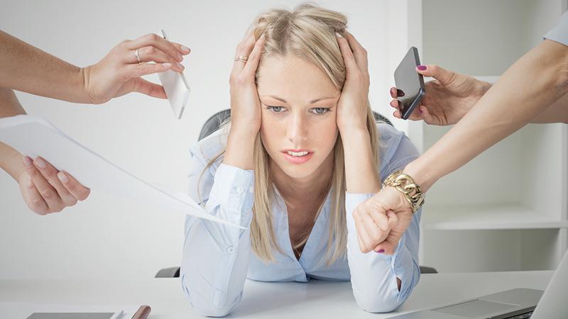 Come sconfiggere lo stress da ufficio