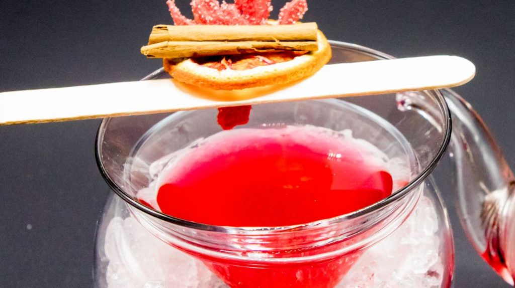 cocktail Sea in the mountain