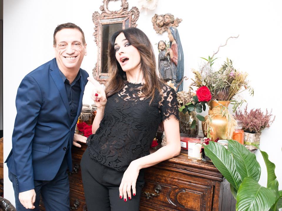 Angelo Perrone e Maria Grazia Cucinotta