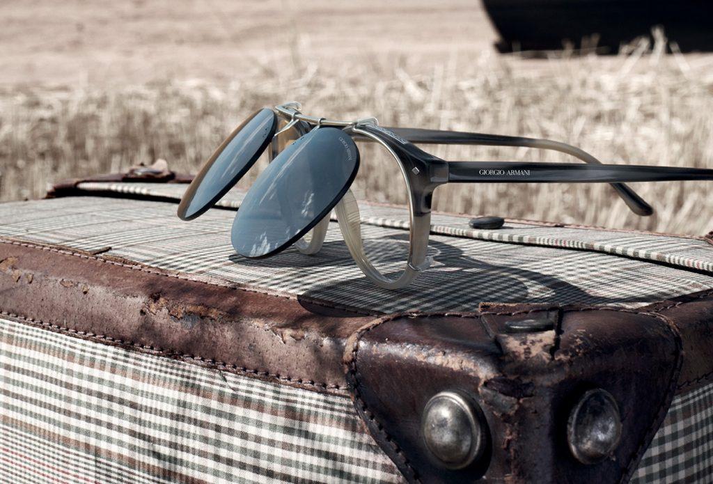Clip on, gli occhiali dalla doppia personalità