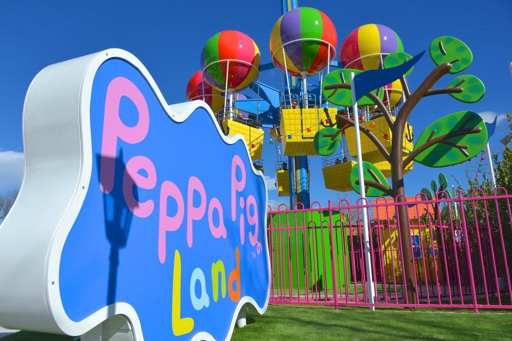 Gardaland, divertimento con Peppa Pig