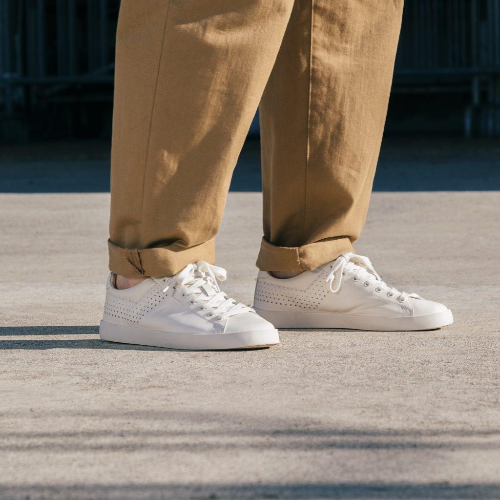 All white sneaker, in arrivo dagli anni '80