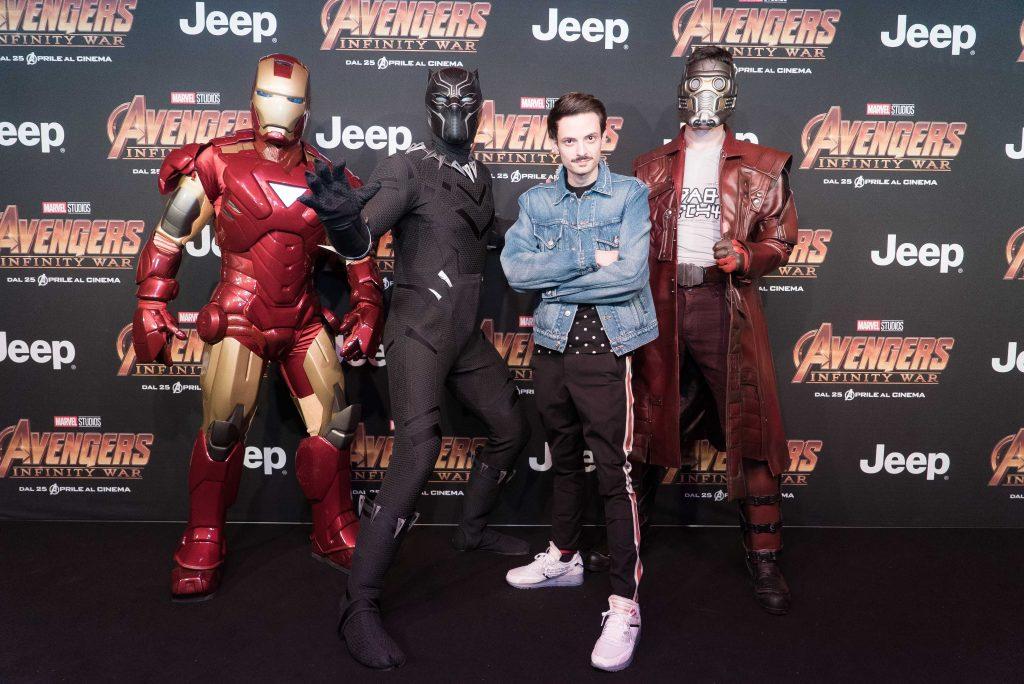 """Rovazzi e i supereroi Marvel – Tutto il """"glam"""" della settimana"""