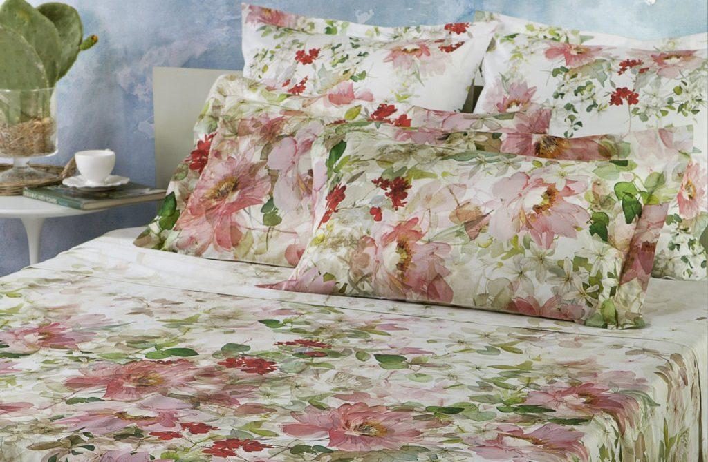 Lenzuola floreali, a letto con la primavera