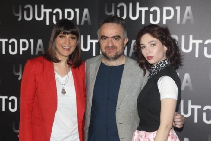 Donatella Finocchiaro, Berardo Carboni e Matilda De Angelis