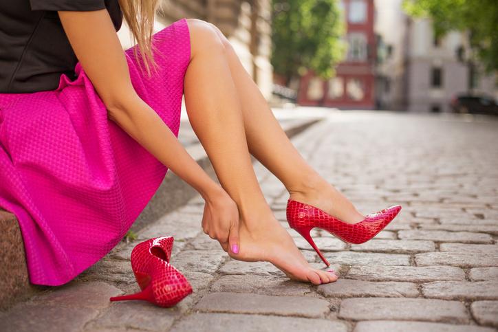 vesciche ai piedi