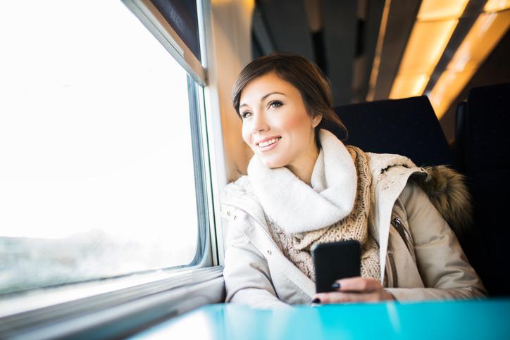 Preferenze degli italiani: viaggiare in treno
