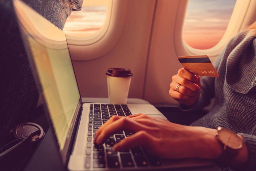 WiFi a bordo, connettersi ad alta quota