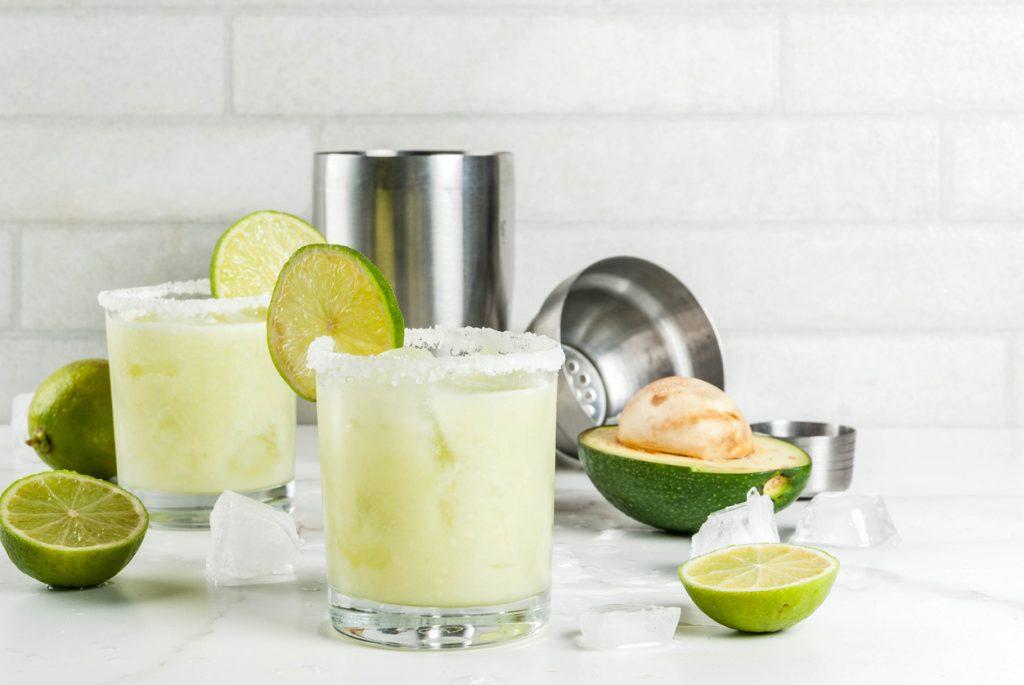 Cocktail con avocado