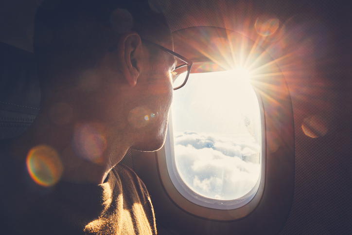 il posto più salubre in aereo è quello al finestrino
