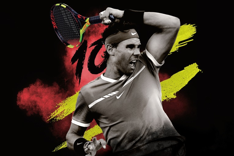 La nuova racchetta ispirata a Rafael Nadal