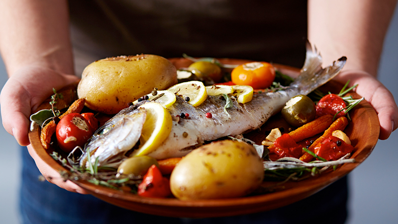 pesce, dieta paleo