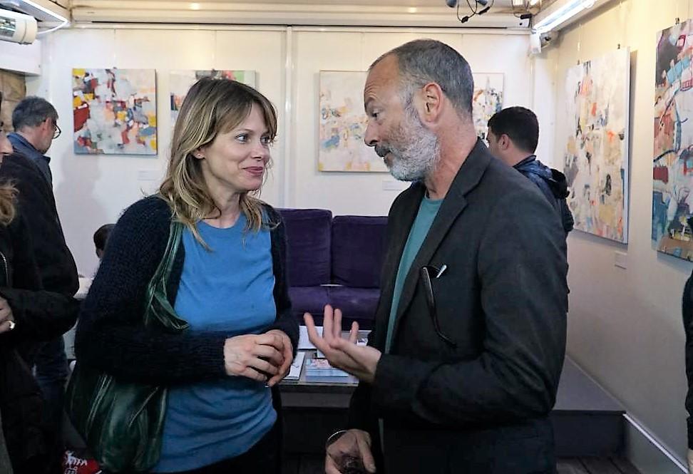 Barbora Bobulova e Ivano De Matteo