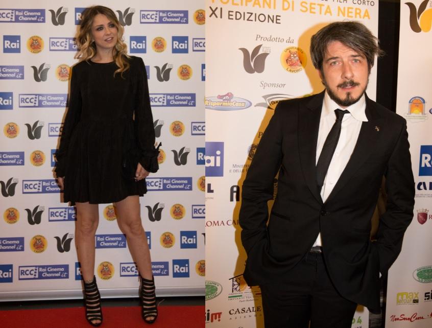 Myriam Catania e Paolo Ruffini