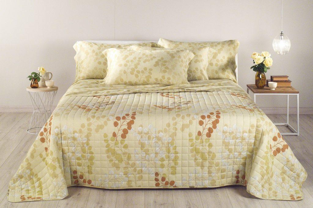 La camera da letto si tinge di… green