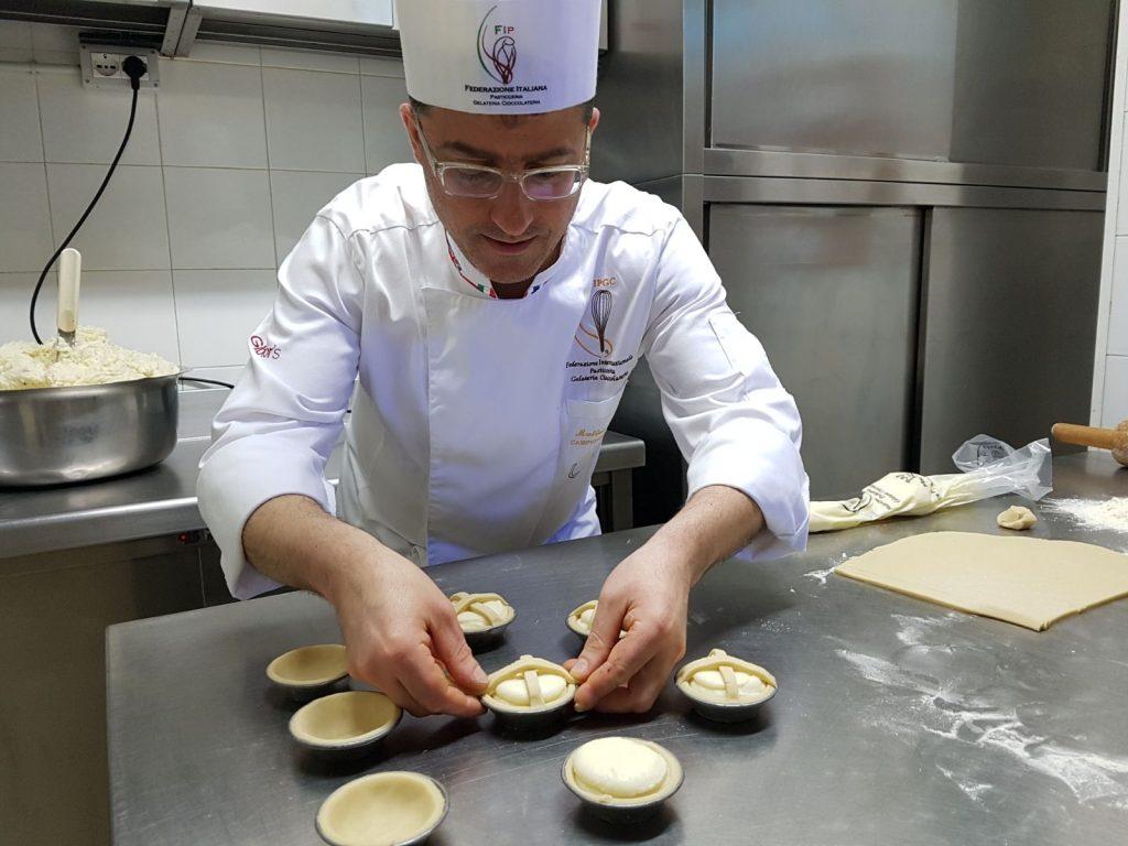 Matteo Cutolo della Federazione Internazionale di Pasticceria, Gelateria e Cioccolateria