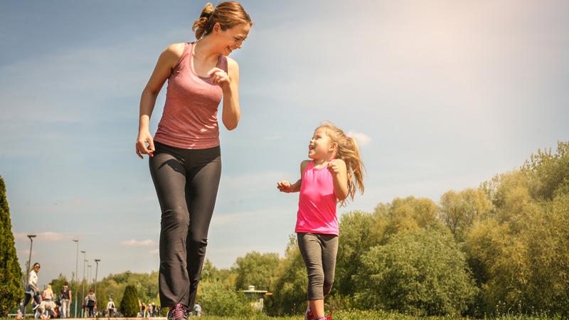 Correre è un ottimo antidepressivo, anche per i bambini