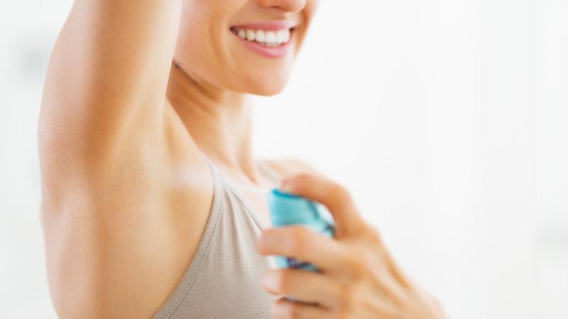 deodorante, inquinamento atmosferico