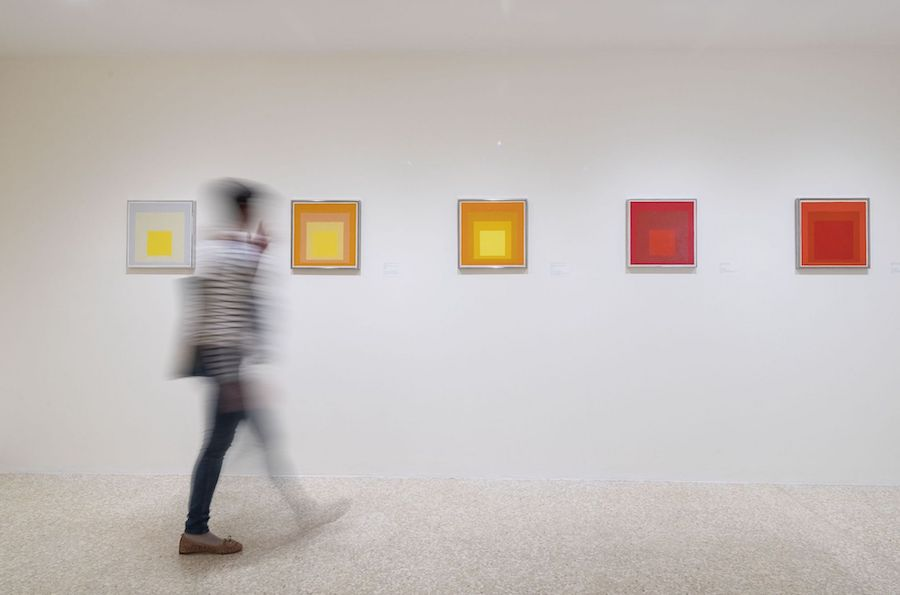 Josef Albers ospite della Collezione Peggy Guggenheim