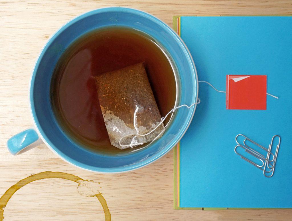 macchie di tè