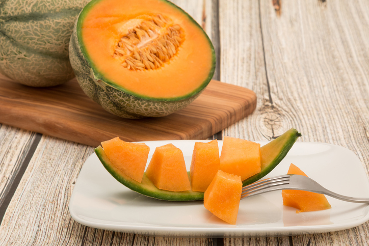 melone e pomodoro per il gin tonic