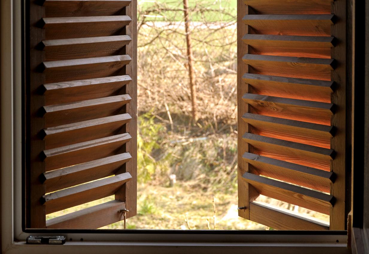 Persiane in legno come pulirle nel migliore dei modi for Persiane finestre