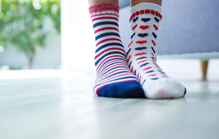 calze spaiate