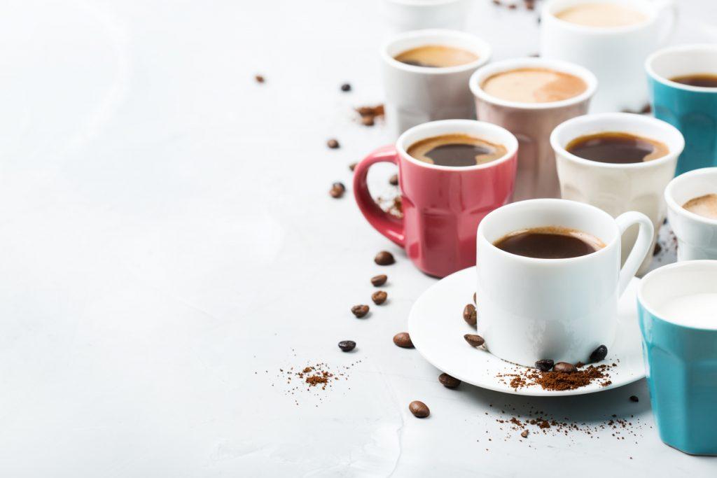 Tazza del caffè, la forma influenza gusto ed aroma